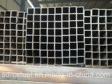 Pipe SS400 en acier carrée recuite noire