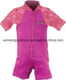 Tecido reusável do bebê da nadada, Wetsuit morno, Swimsuit da flutuabilidade. Wm026