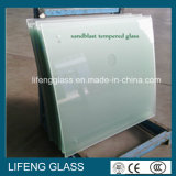 Кисловочным стекло Sandblasted травленым стеклом для балюстрады или ограждать
