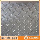 het aluminium heldere oppervlakte van de diamantplaat
