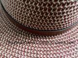 Het Document 10%Polyester van 90% met de Hoeden van de Safari van de Decoratie van de Riem