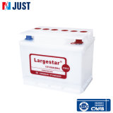 Trockene Autobatterie-Automobilbatterie-nachladbare Leitungskabel-Säure-Batterie (DIN55)