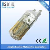 Silicium SMD3014 220V G9 DEL pour Crystal Chandelier avec des Rho de la CE