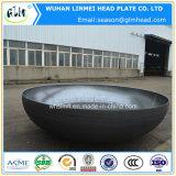 楕円ヘッドによって皿に盛られるヘッドタンクヘッド