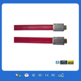 Flaches Braid 1080P Full HD 4k*2k mit Etherent HDMI Cable