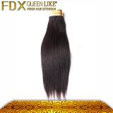 Trama luxuoso do cabelo humano do Virgin de Remy do europeu da qualidade 100 de Fdx