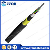All aereo Dielectric Non - Metal 12core Singlemode ADSS Fiber Optic Network Cable
