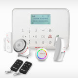 Het draadloze/Getelegrafeerde GSM Systeem van het Alarm, GSM van het Systeem van het Alarm