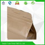 Foil di alluminio Side Gusset Ziplock Stand su Bag