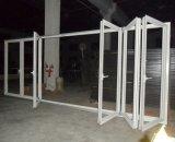 60series thermique Pause portes en aluminium pliant avec stores intérieurs ou Volets