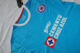 절기 Cruz 2016/2017 Azul 축구 t-셔츠
