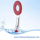 Cabeça de chuveiro nova da mão do estilo com opções favoráveis da cor (R-186X)
