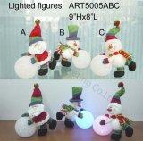 Plüsch-Schnee-Freunde, die EVA-Schneeball, - Weihnachtslichter spielen
