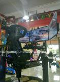 指名される販売のために(HD)追い越されるゲーム・マシンを競争させるアーケードを運転する電子シミュレーター