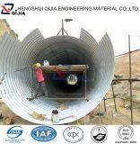 Tubo d'acciaio ondulato del grande diametro, tubo d'acciaio del grande diametro, prezzo del tubo d'acciaio del grande diametro