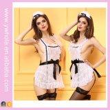 Kleding van het Meisje van de Nacht van de Dames van de Lingerie van de Vrouwen van het Kant van de Kleur van Hotsale de Witte Sexy Japanse Europese
