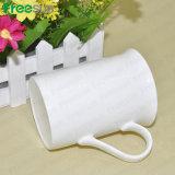 Tazze di caffè di ceramica di sublimazione in bianco all'ingrosso per stampa di sublimazione