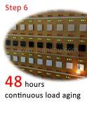 Le contact intelligent électrique de commutateur de contact d'UE commute le commutateur bi-directionnel de mur d'éclairage de deux troupes DEL