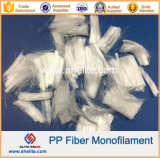 6mm 8mm Fiber Cement Sheetのための12mm PP Monofilament Fiber