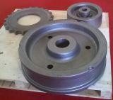 Peças fazendo à máquina, parte de moldação, carcaça de areia, peças da carcaça do Road-Wheel