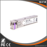 Cisco 저가를 가진 판매에 호환성 1000Base-BX-U BiDi TX1490/RX1550nm 80km SFP 송수신기 모듈