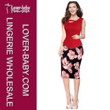 Madame élégante Wholesale Ladies Dress (L36113-1)