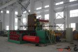 Máquina da prensa de empacotamento da sucata da liga de alumínio