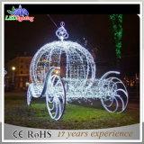 Горячий свет украшения экипажа тыквы рождества 3D праздника