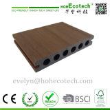 Placa de revestimento para exterior WPC de alta qualidade, pavimento compacto de co-extrusão, pavimento compacto Capstock