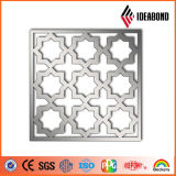 Ideabond perforó el panel compuesto de aluminio para la aplicación de la pantalla