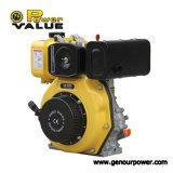 Сбывания двигателя дизеля двигателя дизеля 5kw/6.7HP двигателя генератор энергии 4-Stroke портативного горячего Air-Cooled молчком сильный разделяет Zh178f (e)