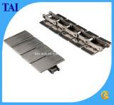 Chaîne de convoyeur droite en acier de dessus plat de passage (C10S)