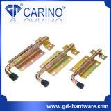 Type plaqué coloré loquet de porte de fer (WX) de Wx de zinc