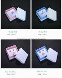 Papierschmucksache-Kasten für Ring, Ohrring, Halskette, Armband und Halskette