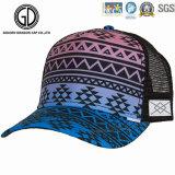 5パネルによって組み立てられる印刷の刺繍のゴルフ網のトラック運転手の帽子