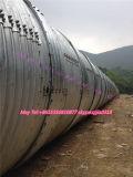 Труба из волнистого листового металла коррозионной устойчивости высокого качества поставкы