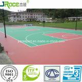 Vloer van de Sport van de Oppervlakte van de Sport van het Hof van het Basketbal van de Prijs van de Fabriek van China de Synthetische