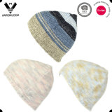 Стильный Multicolor шлем Knit жаккарда геометрии 2016 с Pompom