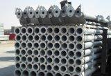 Tubo d'acciaio galvanizzato per il perno concentrare