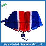 Parapluie imprimé par drapeau du Royaume-Uni dans 3 fois mini