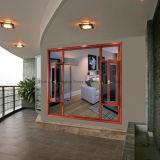 Новое окно залива конструкции подгонянное Feelingtop изолируя стеклянное алюминиевое для виллы гостиницы (FT-W70)
