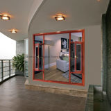 Indicador de louro de alumínio de vidro de isolamento personalizado Feelingtop novo do projeto para a casa de campo do hotel (FT-W70)