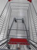 Chariot européen à caddie de supermarché de type