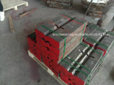 Manganês elevado e barras elevadas do sopro do triturador de impato do cromo