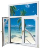 Doppelte Glasaluminiumtür/Aluminiumlegierung-Tür