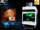 Hochfrequenz3d Crystal Laser Engraving Machine mit Cer Certification