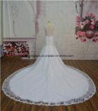 Serviço elegante do OEM do vestido do vestido nupcial do trem da capela do querido de China