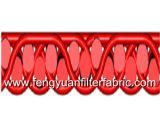 Correa del acoplamiento del poliester para la producción no tejida de la tela