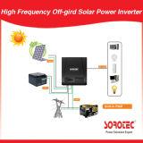 Onda de seno modificada alta freqüência fora do inversor solar 1-2kVA da grade