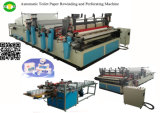 가득 차있는 Automatic 1575mm Toilet Tissue Paper Product Making Machinery